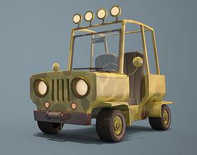 3D Cartoon Jeep