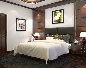 Bedroom tropical 3D