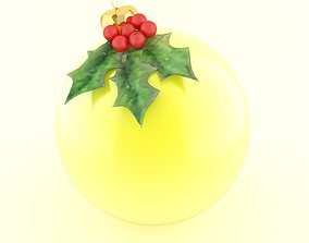 party christmas ball 3D model