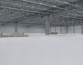 3D model Warehouse Interior 3 facility