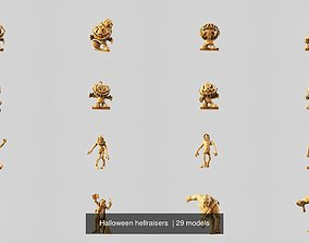 Halloween hellraisers 3D 28mm