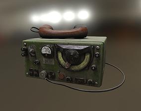 Radio Station A-7-B 3D model