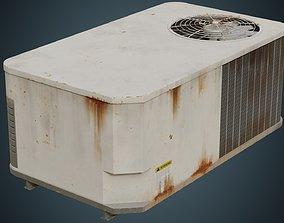 Rooftop AC Unit 3B 3D asset