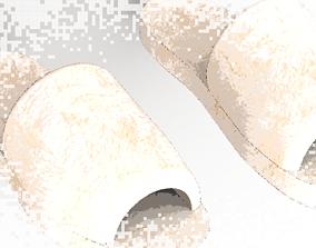 Slipper 3D asset