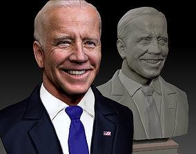 Joe Biden President Democrat Textured 3D printable model