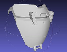 3D print model Overwatch Brigitte Chest Armor Pieces