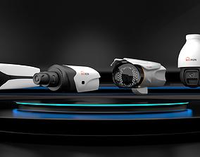 MAXRON security camera 3D asset