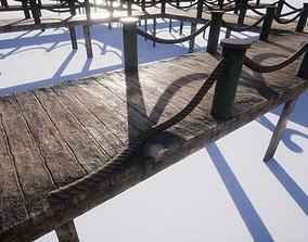 3D asset realtime wooden pier