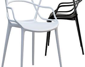 3D model Kartell Masters chair minimalism