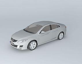 Mazda MAZDA6 Sport 2008 3D model