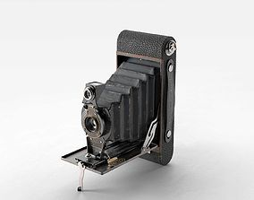 3D model Kodak No2 Folding Autographic Brownie