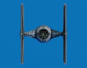3D printable model Star Ware Return A New Hope Tie