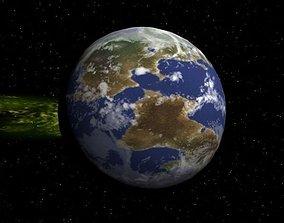 3D asset Planet Xzureo