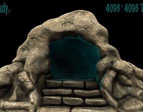 3D model cave 01