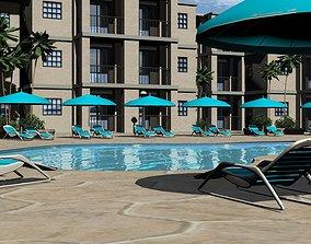 Tropical Luxury Condos 3D