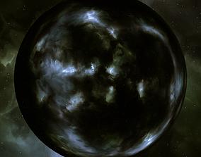 Nebula Space Environment HDRI Map 014 3D model