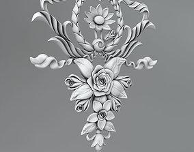 Flower decor 8 3D