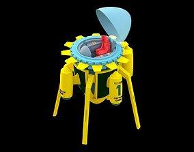 3D print model Dragon ball time machine