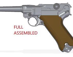3D model Luger P-08