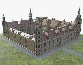 Kronborg Castle 3D asset