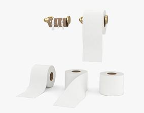 Toilet Paper 3D model furniture
