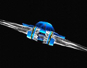 Mirror Lance 3D asset game-ready