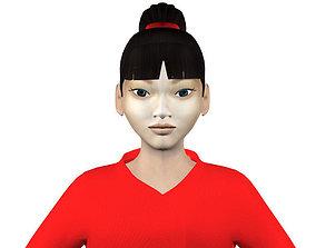 3D model Naomi