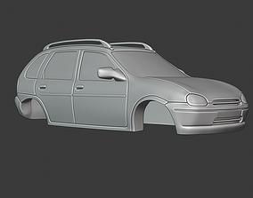 Opel Corsa Swing 3D print model