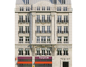 3D model Paris Facade 4