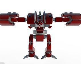 3D model Nitro robot