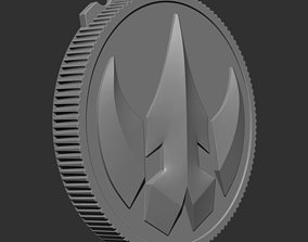 2 Power Ranger Legacy Lord DRAKKON Coin 3D print model 5