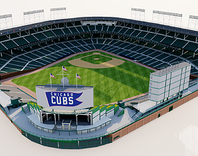 Wrigley Field - Chicago Cubs 3D