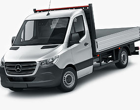 3D Mercedes Sprinter 2018 pickup