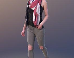 Valeska 10242 - Walking Casual Girl 3D model
