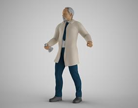 3D printable model Professor