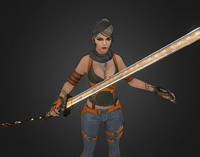 game-ready Character model 7