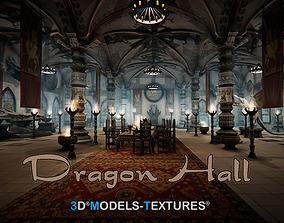 3D model Dragon Hall