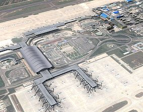 3D Xian International Airport China
