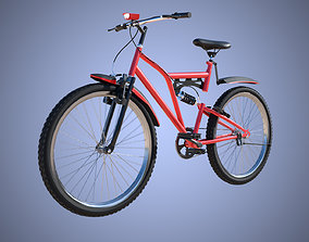 3D model rigged Bicycle