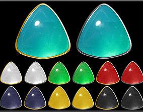 Triangle Stone 3D model