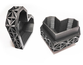 3D printable model Heart Jewelry Box