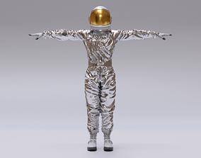 Spacesuit Astronaut Rigged - Astronauta Traje 3D model 1