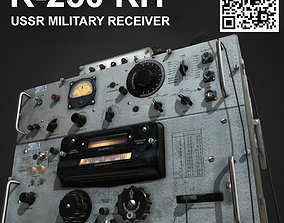 R-250 USSR military receiver 3D asset