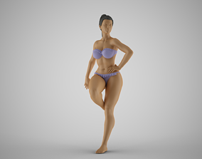 3D print model Leaning Against Wall 3
