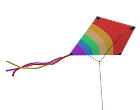 3D model Flying kite