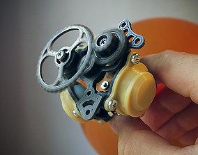 Balloon Powered Radial Engine 3D printable model