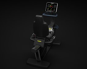 Recline Cardio Machine 3D model