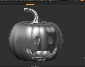 3D printable model halloween pumpkin 08