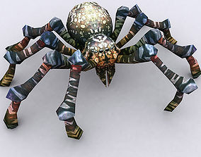 3DRT - Spiders animated low-poly