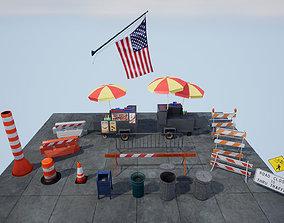 3D model New York Enviromnet stuff